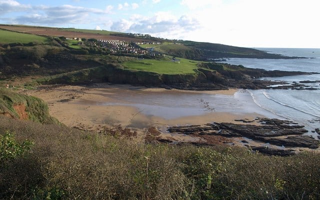 Bovisand Bay beach, Plymouth, Devon