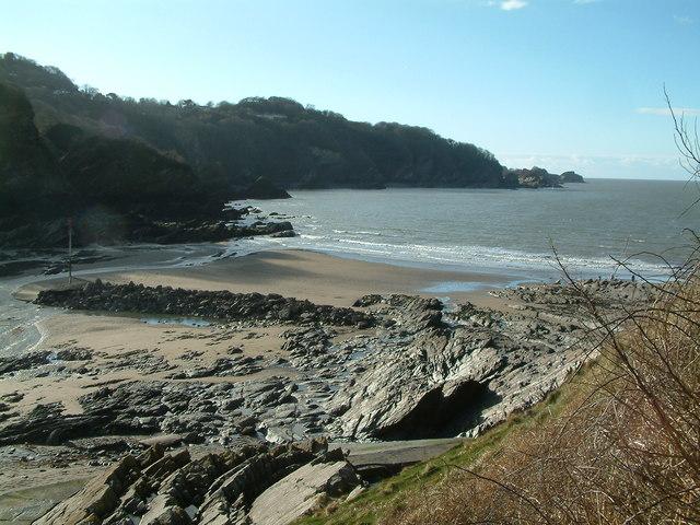 Combe Martin Bay beach, Ilfracombe, Devon