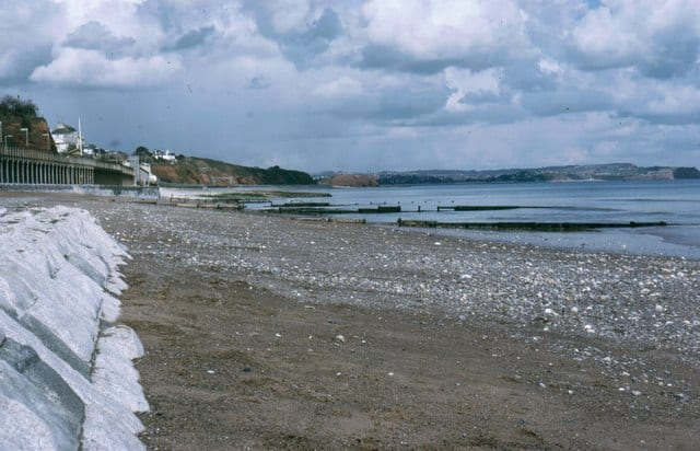 Dawlish Town beach, Dawlish, Devon