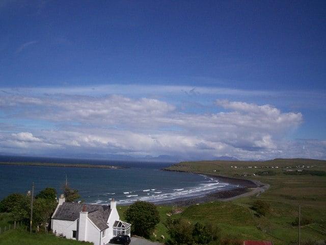 Staffin Bay beach, Isle of Skye, Inner Hebrides