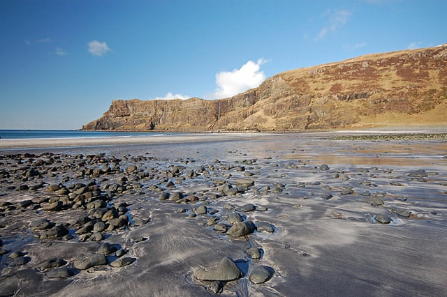 Talisker Bay beach, Isle of Skye, Inner Hebrides