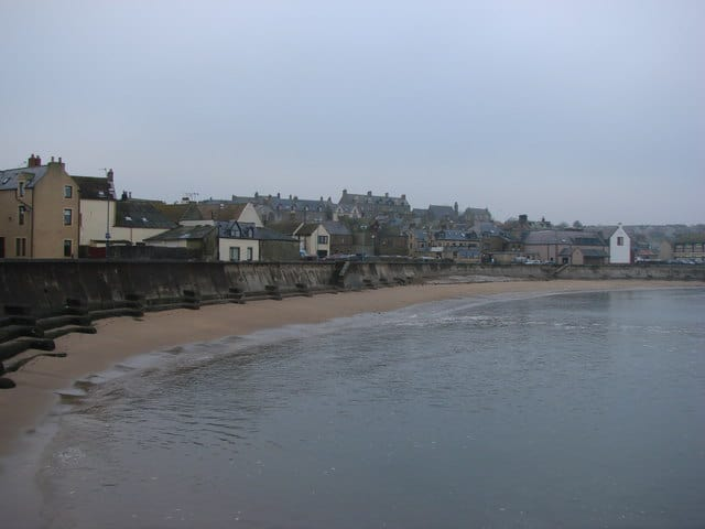Eyemouth beach, Eyemouth, The Scottish Borders