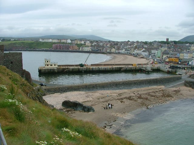 Fenella beach, Peel, Isle of Man
