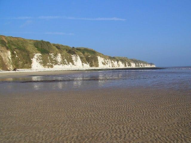 Danes Dyke beach, Bridlington, East Riding of Yorkshire