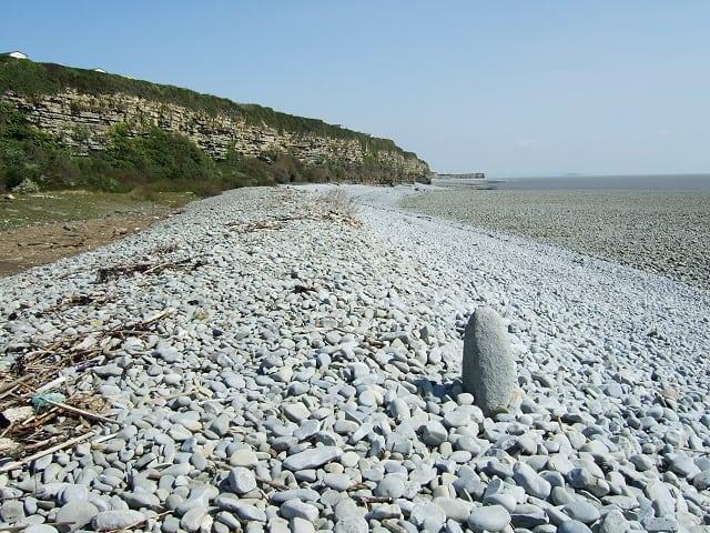 Fontygary Bay beach, Barry, Vale of Glamorgan