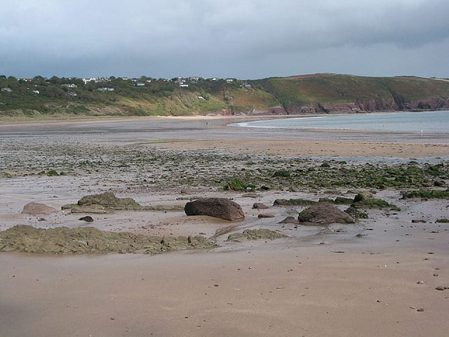 Freshwater East beach, Pembroke, Pembrokeshire