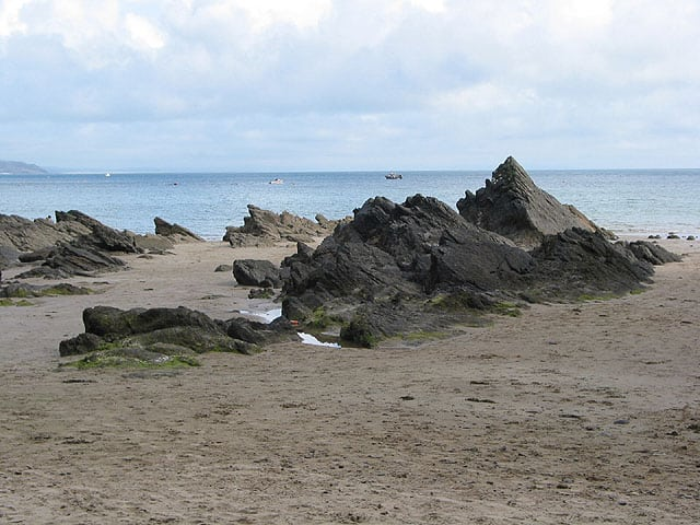 Glen beach, Saundersfoot, Pembrokeshire