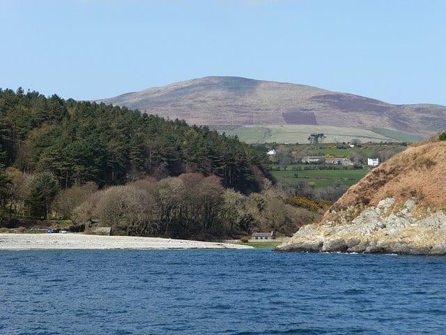Port Cornaa beach, Ramsey, Isle of Man