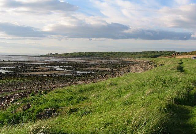 Gosford Sands beach, Longniddry, East Lothian