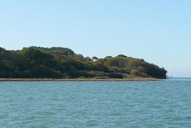 Hamstead Point beach, Newtown, Isle of Wight