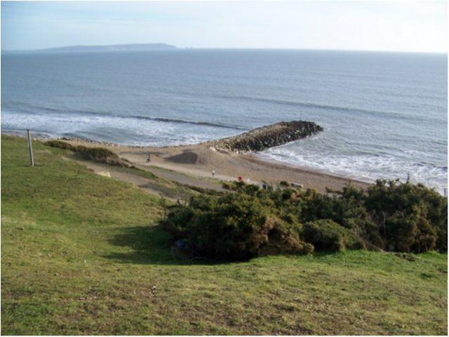 Highcliffe beach, Christchurch, Dorset