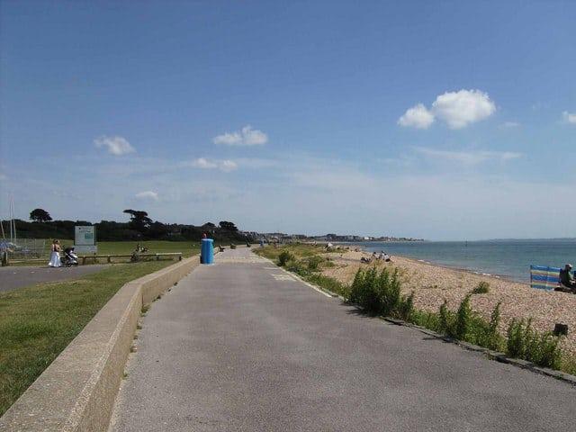 Hill Head beach, Gosport, Hampshire