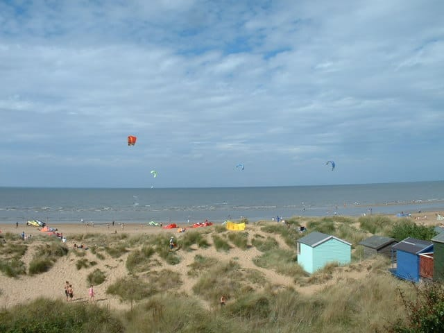 Old Hunstanton beach, Hunstanton, Norfolk