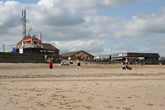 Ingoldmells beach, Skegness, Lincolnshire