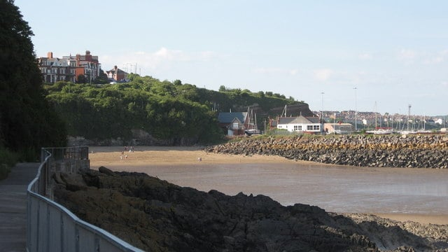 Jacksons Bay beach, Barry Island, Vale of Glamorgan