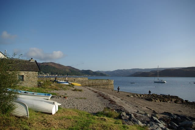Kames Bay beach, Tighnabruaich, Argyll and Bute