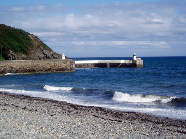 Laxey Bay beach, Laxey, Isle of Man