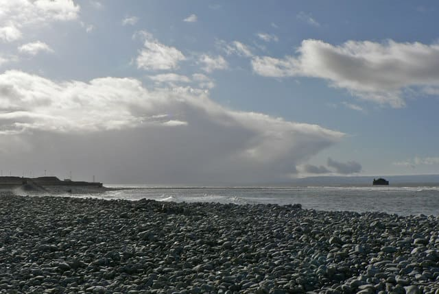Limpert Bay beach, Gileston, Vale of Glamorgan