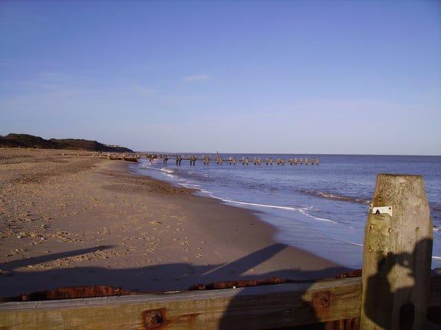 Gunton Denes beach, Lowestoft, Suffolk