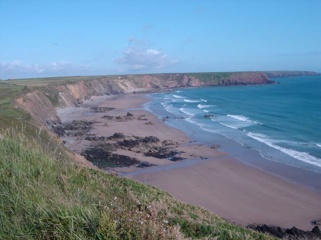 Marloes Sands beach, Dale, Pembrokeshire