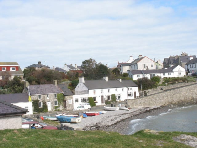 Moelfre beach, Moelfre, isle of Anglesey