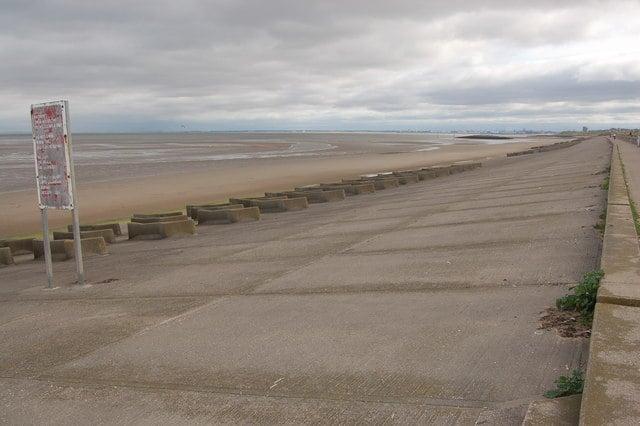 Moreton beach, Moreton, Merseyside