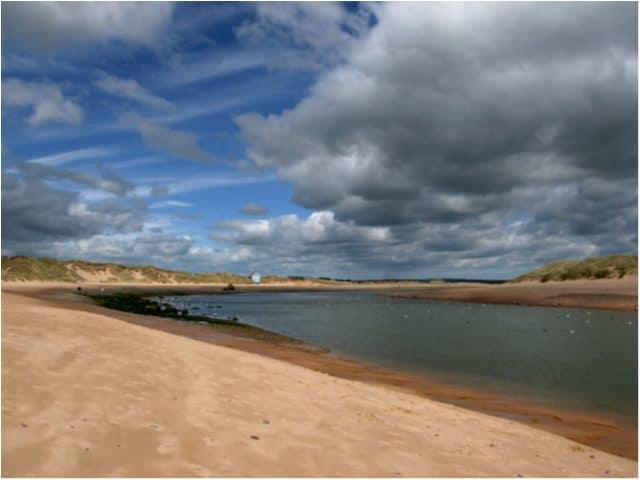 Newburgh beach, Ellon, Aberdeenshire
