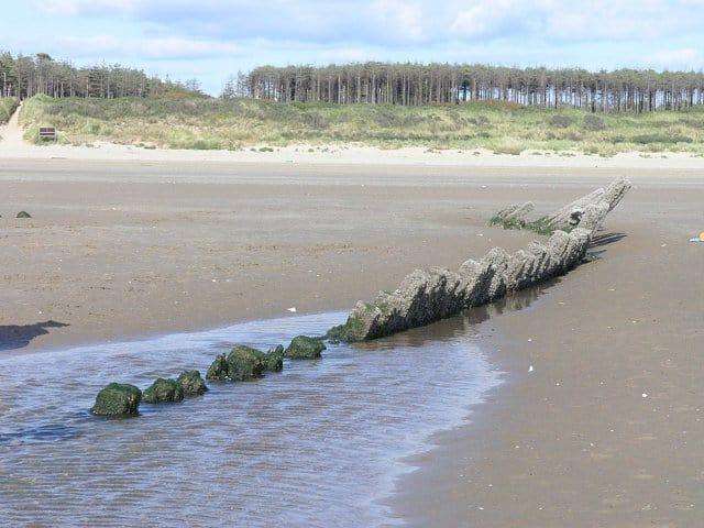 Cefn Sidan beach, Llanelli, Carmarthenshire