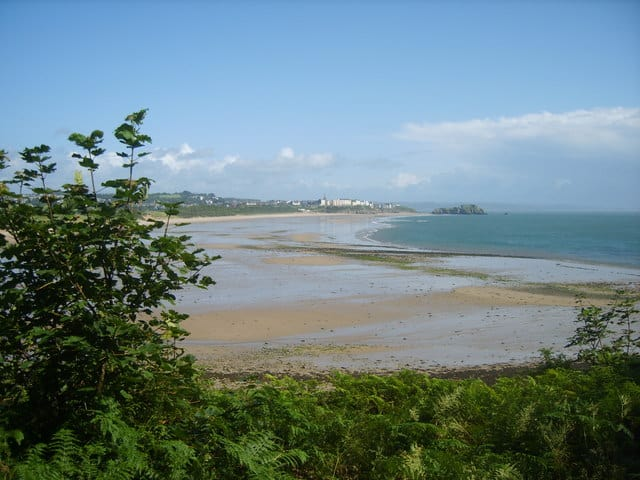 Penally beach, Tenby, Pembrokeshire