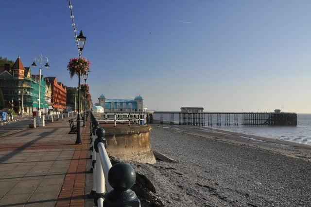 Penarth beach, Cardiff, South Glamorgan