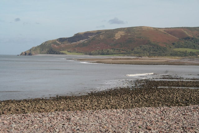 Porlock Bay beach, Minehead, Somerset