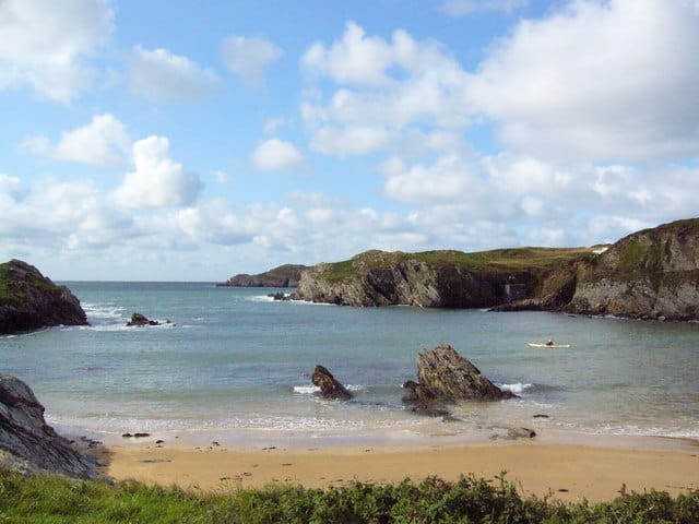 Porth Trecastle beach, Rhosneigr, Isle of Anglesey