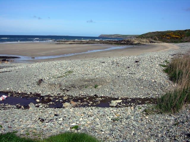 Porth Trwyn beach, Holyhead, Isle of Anglesey