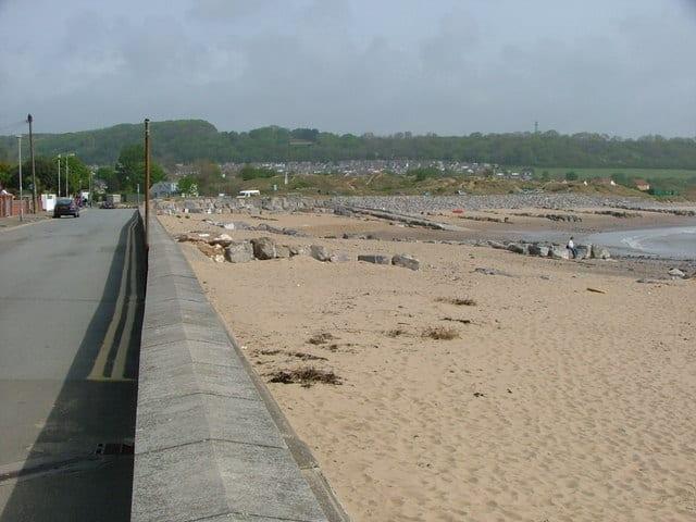 Newton Bay Black Rock beach, Porthcawl, Mid Glamorgan