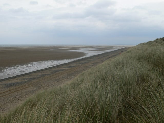Gronant Dunes (The Warren beach), Talacre, Flintshire