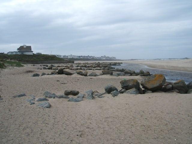 Treath Crigyll beach, Rhosneigr, Isle of Anglesey