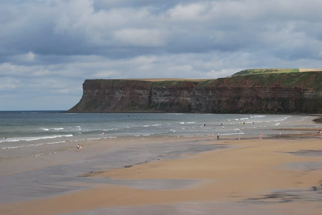 Saltburn beach, Saltburn-by-the-Sea, North Yorkshire