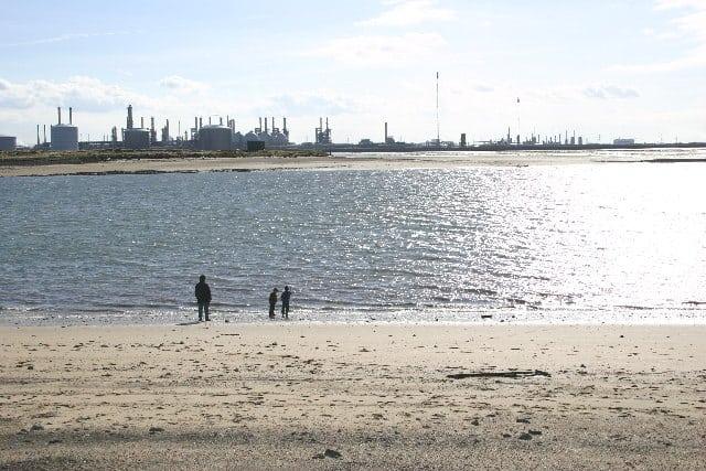 Seal Sands beach, Hartlepool, Durham