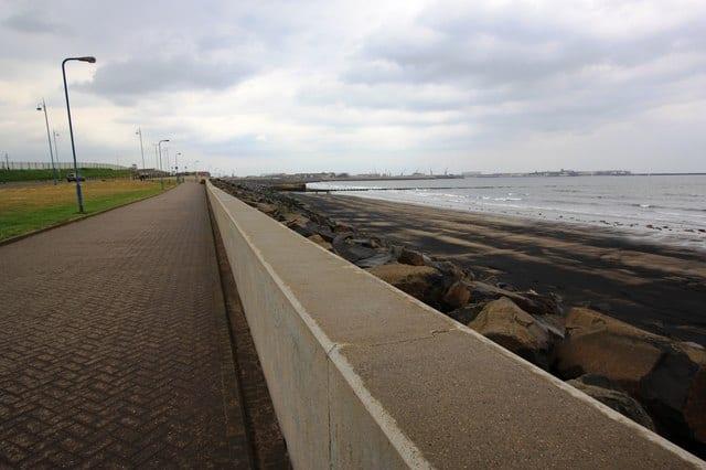 Hartlepool Bay beach, Hartlepool, Durham