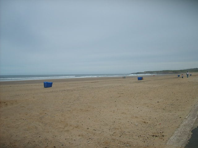 Sandhaven beach, South Shields, Tyne and Wear