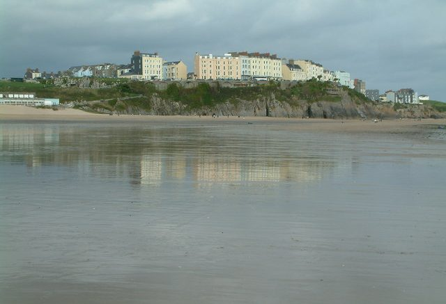 Tenby South beach, Tenby, Pembrokeshire