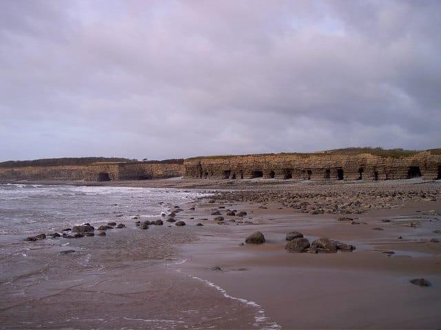 Tresilian Bay beach, Bridgend, Mid Glamorgan