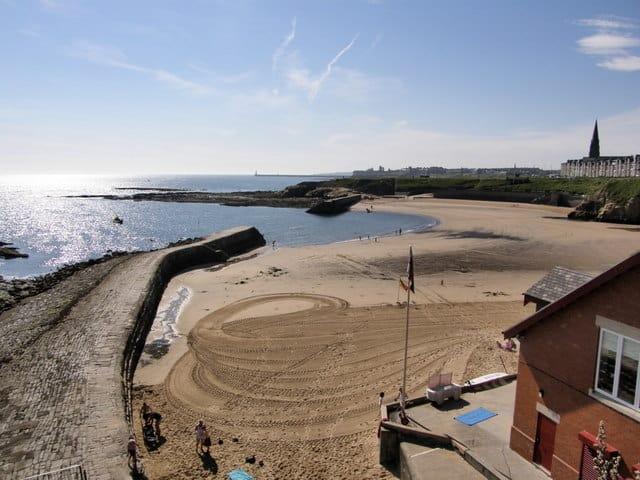 Cullercoats beach, Tynemouth, Tyne and Wear
