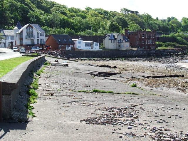 Wemyss Bay beach, Greenock, Inverclyde