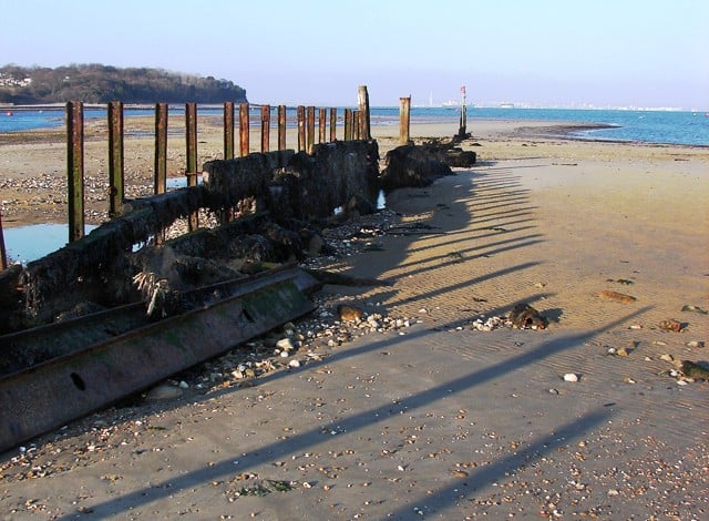 Silver Sands beach, Bembridge, Isle of Wight