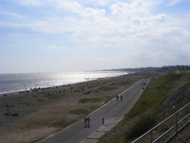 Pakefield beach, Lowestoft, Suffolk