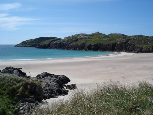 Polin beach, Oldshoremore, The Scottish Highlands