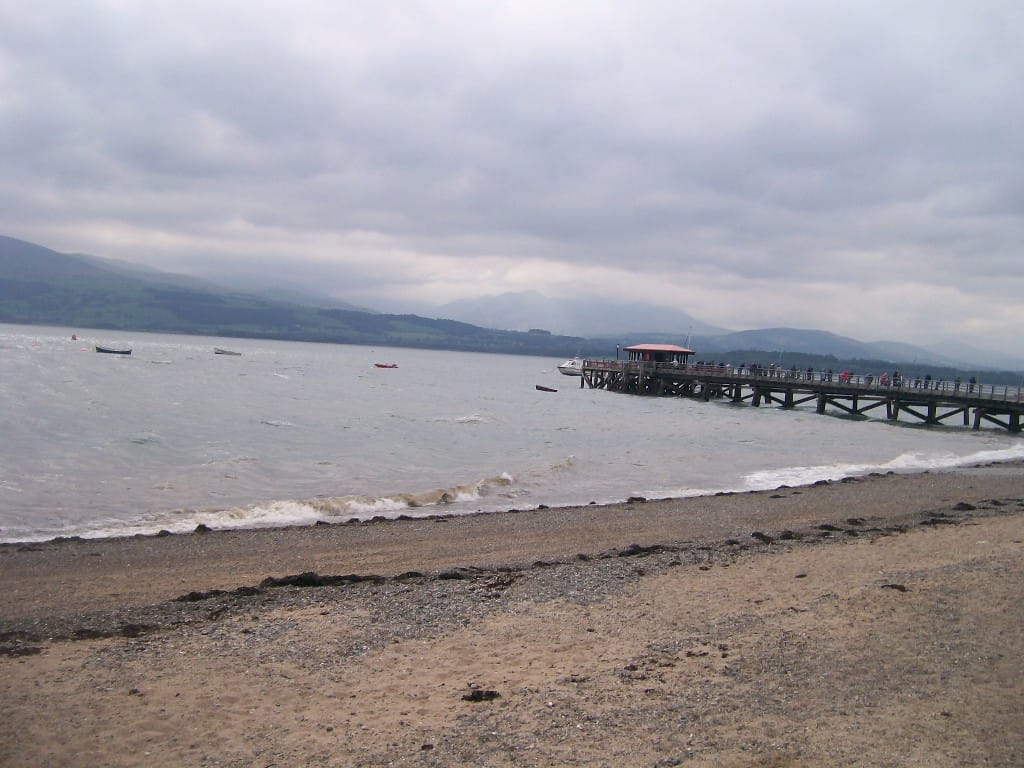 Beaumaris beach, Beaumaris, Isle of Anglesey