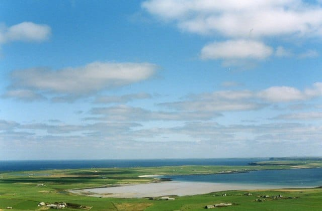 Bay of Tuquoy beach, Westray, Orkney islands