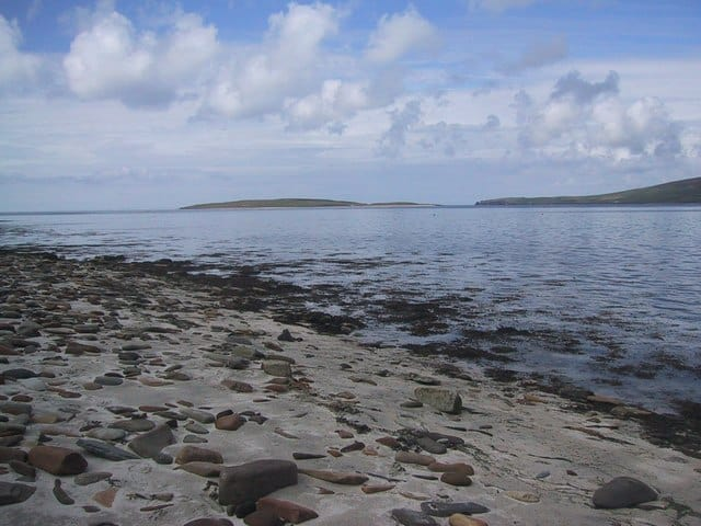Evie Sands beach, Orkney, Orkney Islands
